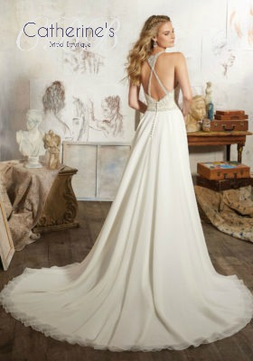 Mori Lee 8106 back