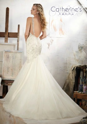 Mori Lee 8107 back
