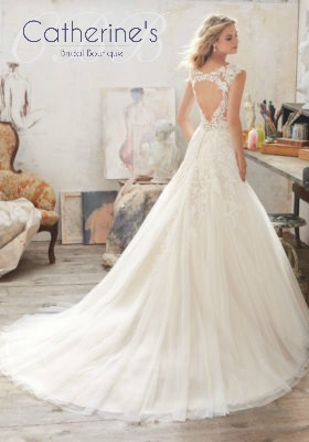 Mori Lee 8117 back