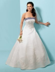 Alfred Angelo wedding gown style #1612
