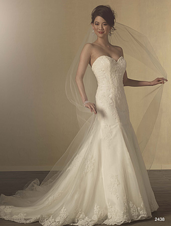 Alfred Angelo wedding gown style #2438