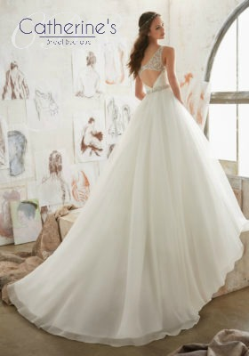 Mori Lee 5507 back