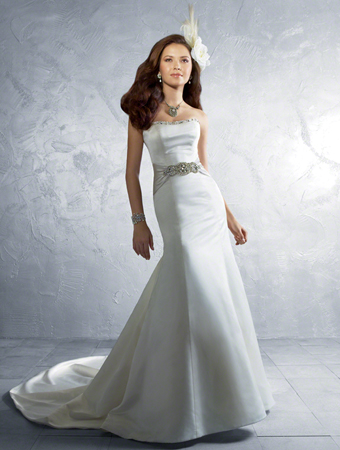 Alfred Angelo wedding gown style #2185