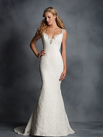 Alfred Angelo wedding gown style #2524