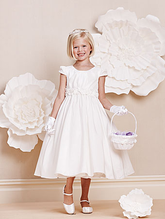 Alfred Angelo flower girl style #6674.