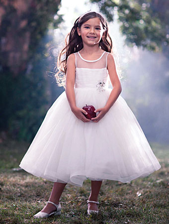 Disney Blossoms by Alfred Angelo flower girl style #722.