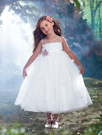 Disney Blossoms by Alfred Angelo flower girl style #725.