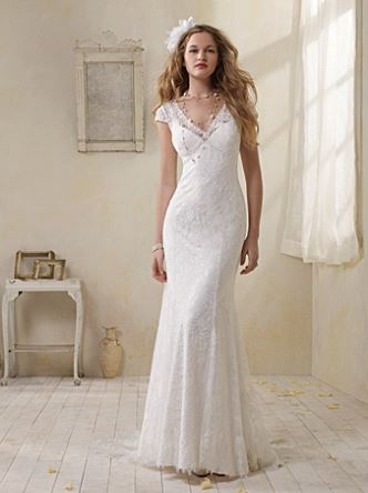 Alfred Angelo Modern Vintage style #8501