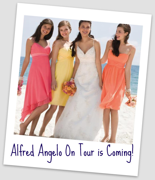 Alfred Angelo On Tour is Coming!