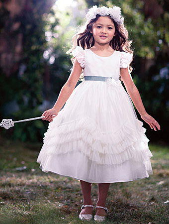 Disney Blossoms by Alfred Angelo flower girl style #721.