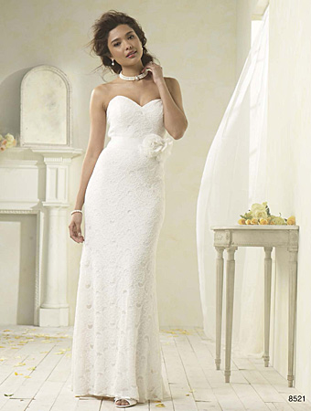 Alfred Angelo Modern Vintage wedding gown style #8521